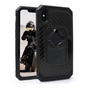 Etui RokForm Fuzion Pro do Apple iPhone X aluminiowe czarne