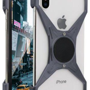 Etui Rokform Predator do Apple iPhone X aluminiowe szare